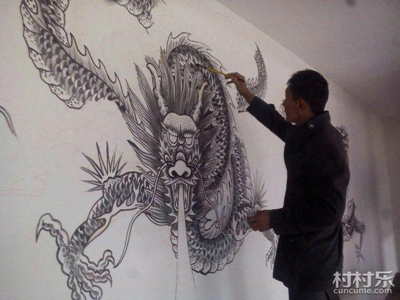 我们村的绘画民间艺人