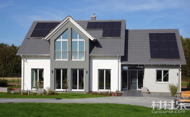 德国经典户型自建房实景装修平面图