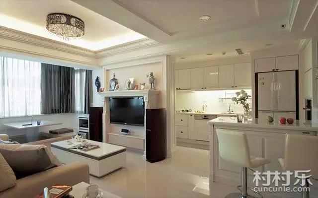 高颜值现代简约风格客厅电视背景墙装修效果图欣赏完毕,即