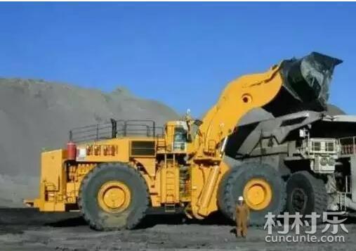 世界上最大的轮式装载机,一辆就能在北京能买10套房